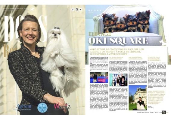 page de couverture plus 1 page article